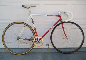 1987-1988 7-Eleven Huffy (Serotta) track bike