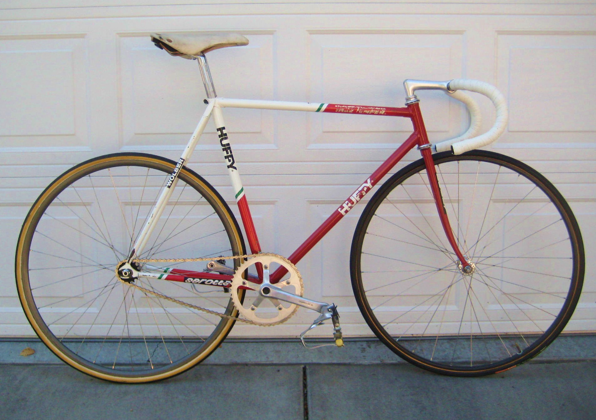1988 Huffy Serotta 7 Eleven Team Track Bike Classic Cycle