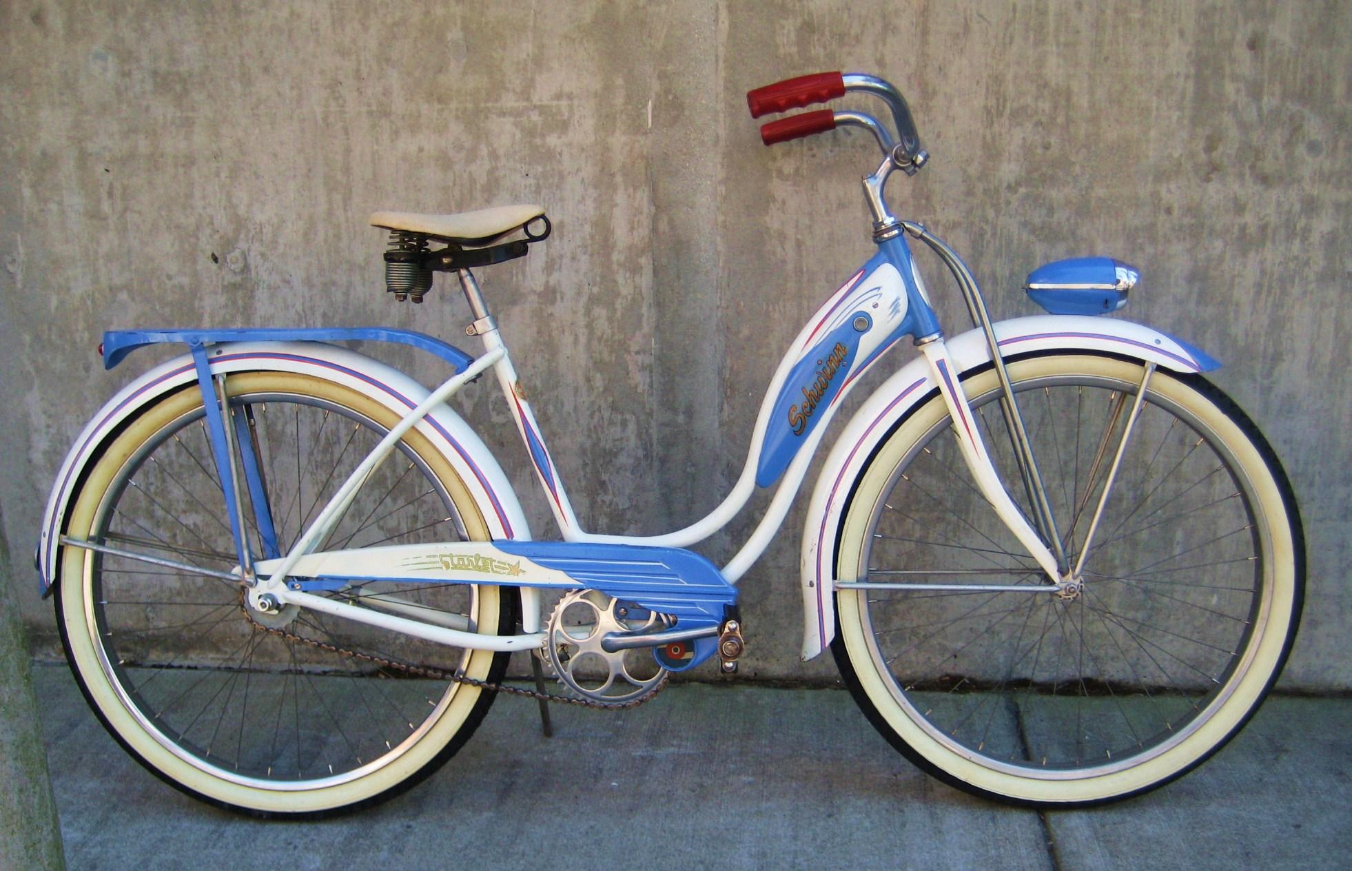 1955 B F Goodrich Schwinn Starlet Bicycle Classic Cycle