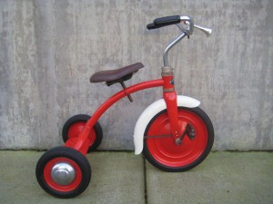 1940's Grieder Flyer Tricycle