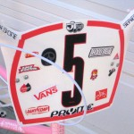 JT Racing plate