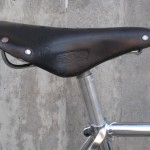Saddle detail