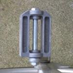 Aluminum pedals