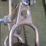 Seat stay link