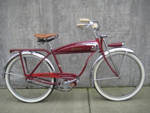 1953 Amp 1954 Schwinn Panther Cruiser Balloon Tire Bikes