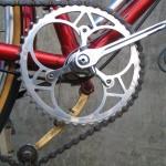 Chain tension arm