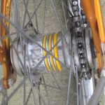 2 speed kick-back hub