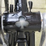 Bottom bracket cut out