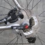 Disc brake thru-axles