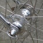 High flange Campy hubs