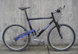 1992 Trek 9500 mountain bike