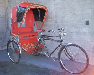 1960's Avon Bicycle Rickshaw