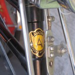 Avon head tube badge