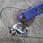 The first XTR derailleur