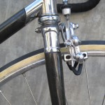 Carbon wrapped steel fork