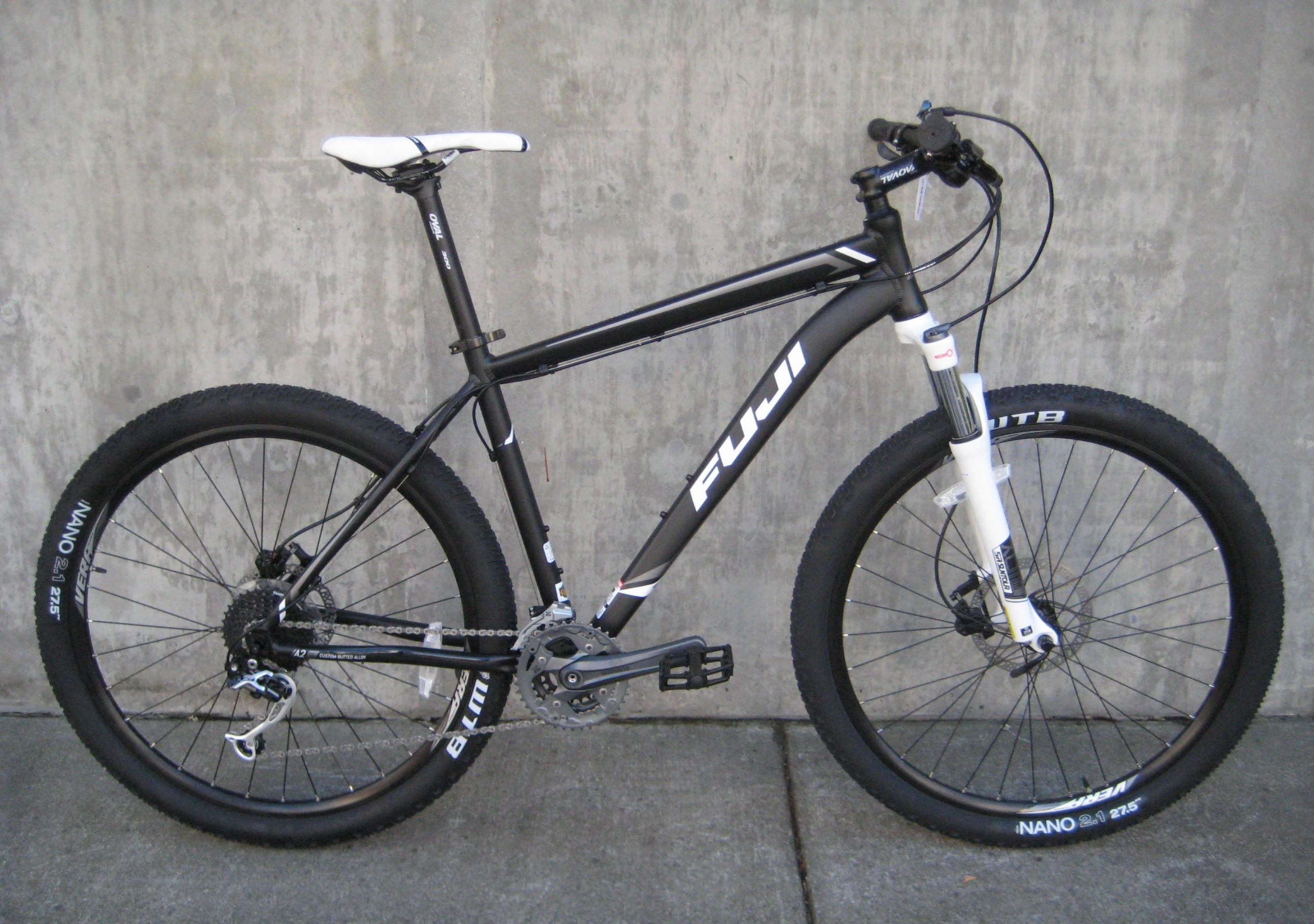 Fuji Nevada 1 3, 1 5 and 1 7 mountain bikes at Classic Cycle