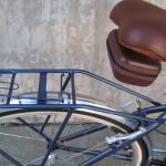 Matching seat bag and rack