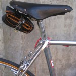 Campagnolo version Brooks saddle
