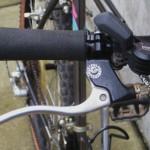 Big motorcycle-style brake levers