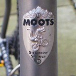 Mr. Moots Alligator head tube badge