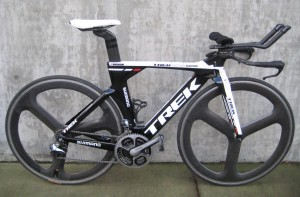 Kiel Reijnen's Trek Time Trial Bike