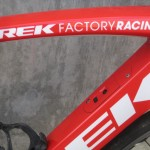 Trek Factory team bike