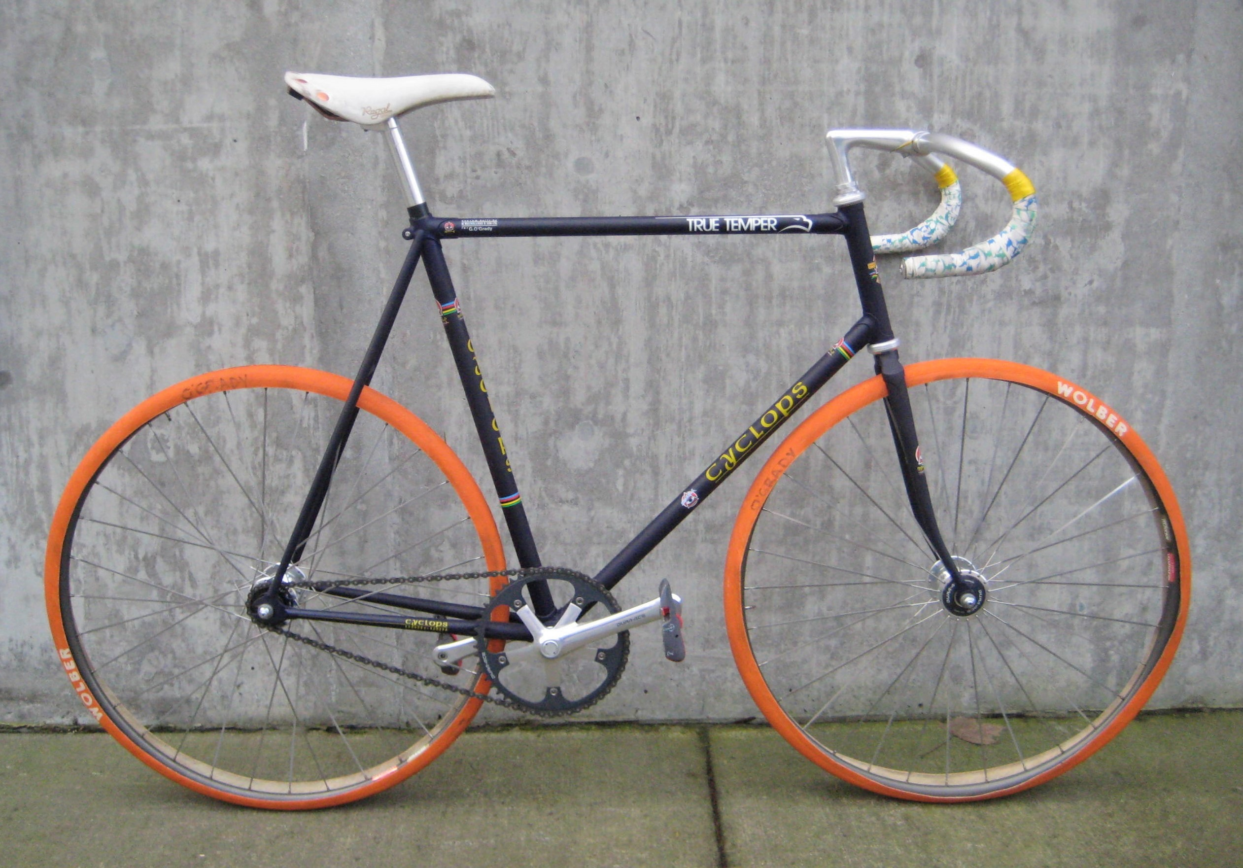 Gavin O Grady S 1988 Cyclops Track Bike Classic Cycle Bainbridge