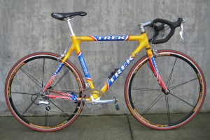 1999 Tour de France commemorative Trek 5500 road bike