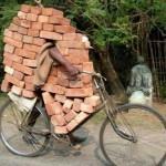 A ton of bricks