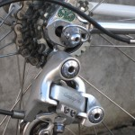 Record derailleur, custom dropouts