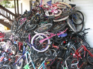 bike piles