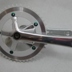 170 Track crank with b.b. $50