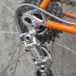 Drilled derailleur