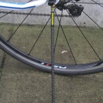Upstand carbon fiber kickstand