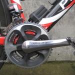 Dura-Ace/SRM powermeter crank
