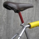Kashimax saddle and fluted post