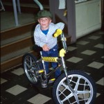 Curtis and his bike