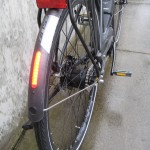 Intergrated rear light