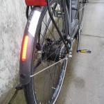 Intergrated rear light