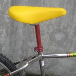 Troxel quilted saddle