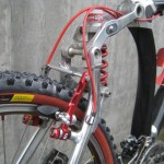Red Paul Crosstop III brakes