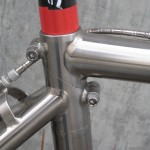 Simple seat clamps hold the frame together
