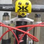 125 gram Scott thermoplastic handlebar
