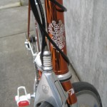 """Etched head tube """"badge"""""""