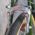 Centerpull brakes, these worked well.
