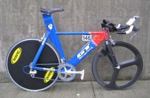 U.S. Cycling Team time trial bike