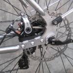 Flat mount brakes