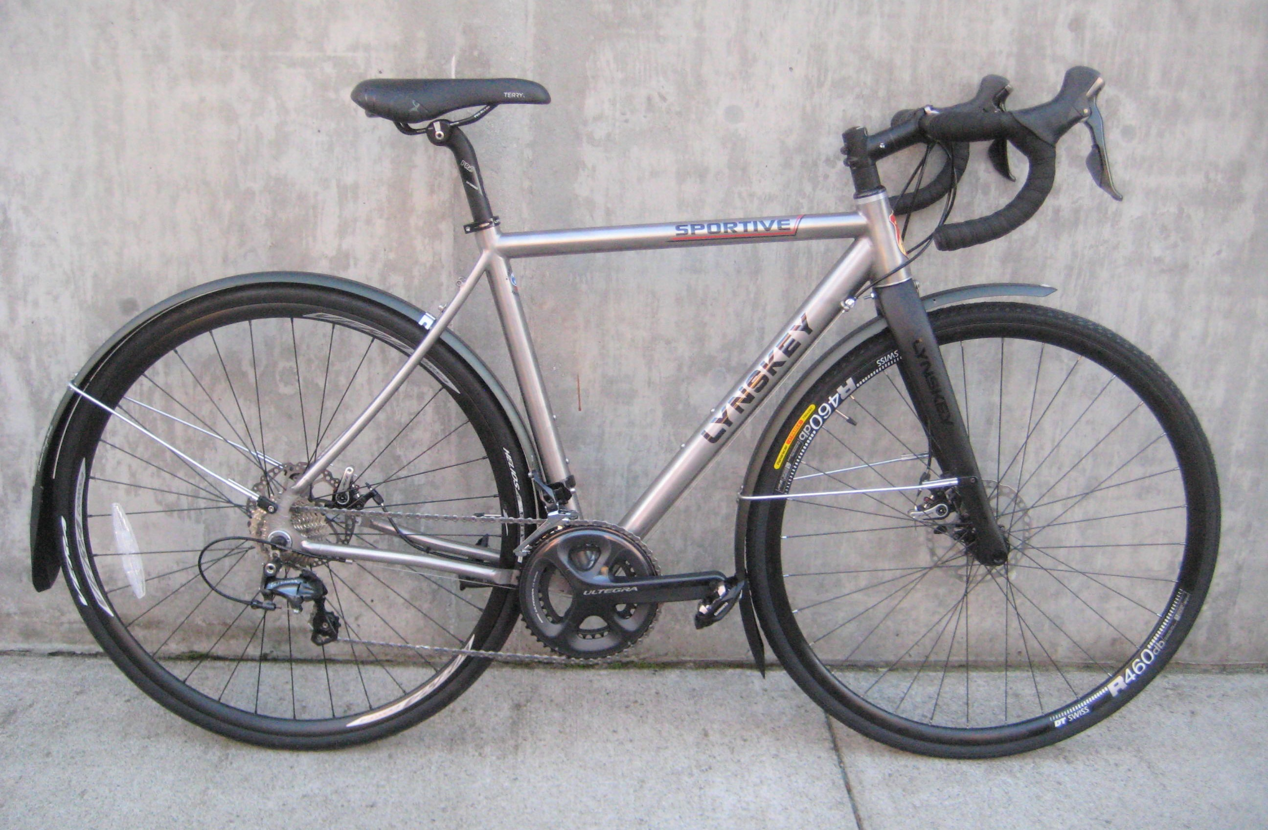 Lynskey Sportive disc Titanium road bikes at classic cycle | Classic ...