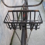 Iron bike basket