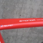 Kiel's team issue bike